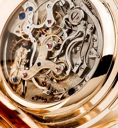 Kompliziertes Uhrwerk