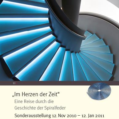 2010_Ausstellung_Im Herzen der Zeit_Eine Reise durch die Geschichte der Spiralfeder