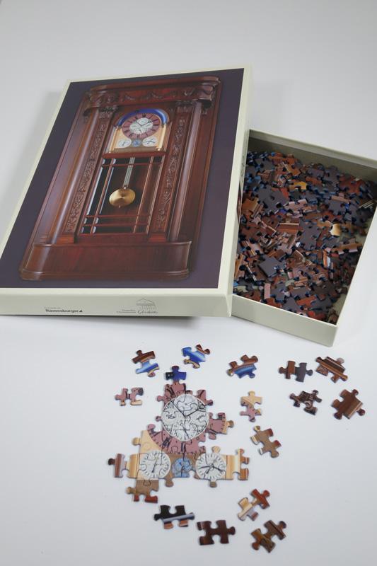 Puzzle Uhr 500 Teile