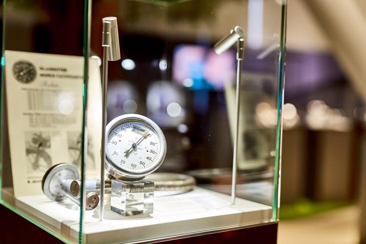 Mühle Tachometer Stiftung Deutsches Uhrenmuseum Glashütte