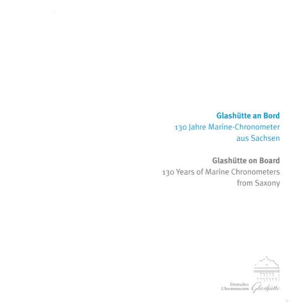Buch Glashütte an Bord 1